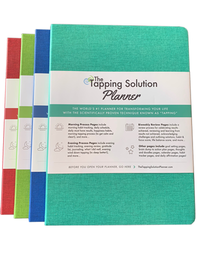 The Tapping Solution Planner – 4-Pack