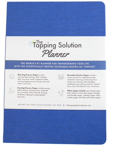 The Tapping Solution Planner – Blue