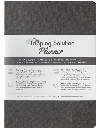 The Tapping Solution Planner – Gray