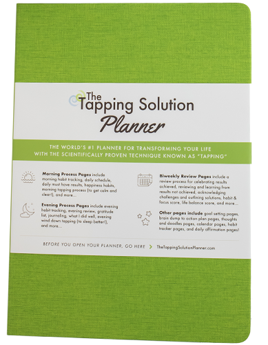 The Tapping Solution Planner – Green