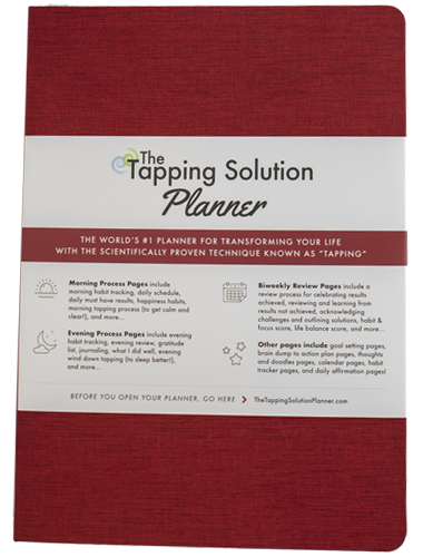 The Tapping Solution Planner – Red