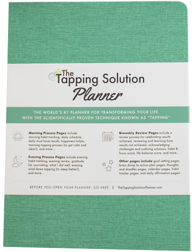 The Tapping Solution Planner – Teal