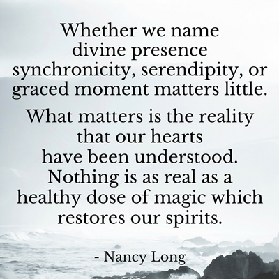 Nancy Long quote about understanding